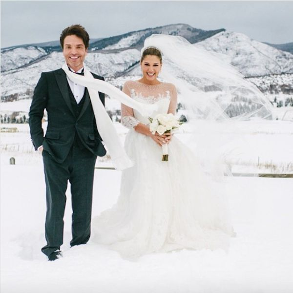 10 Celebrity Weddings That Prove Winter Nuptials Are Worth the Chill