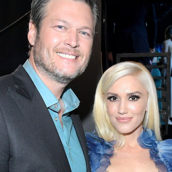 """Gwen Stefani and Blake Shelton's Side-by-Side Yearbook Photos Are """"Perfection"""""""