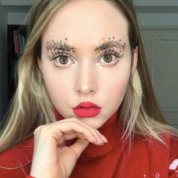 Christmas Tree Brows Are the Festive Beauty Trend You Didn't Know You Needed