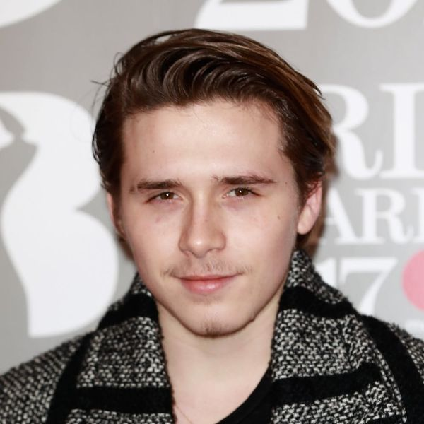 Brooklyn Beckham Just Got a Tattoo That's All About L-O-V-E