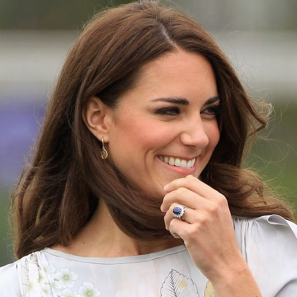 The Real Reason Kate Middleton's Engagement Ring Is Blue