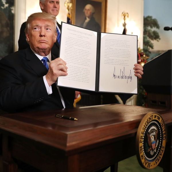 Controversy Ensues As Trump Recognizes Jerusalem As Israeli Capital
