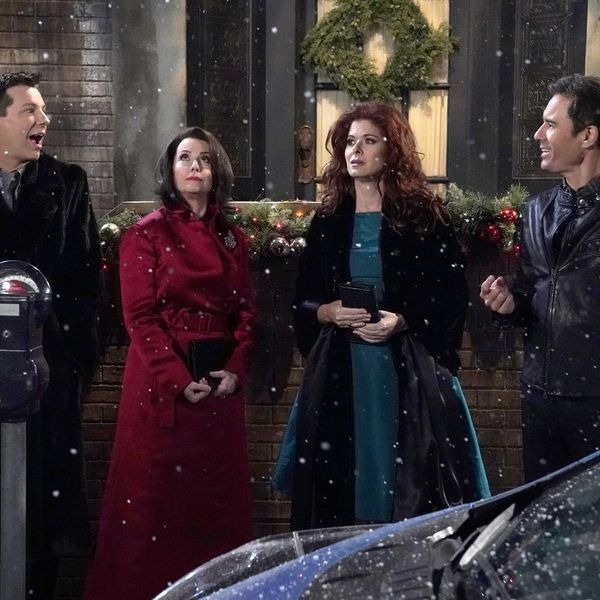 """Will & Grace"" Paid Tribute to the Debbie Reynolds in the Sweetest Way on Their Christmas Special"