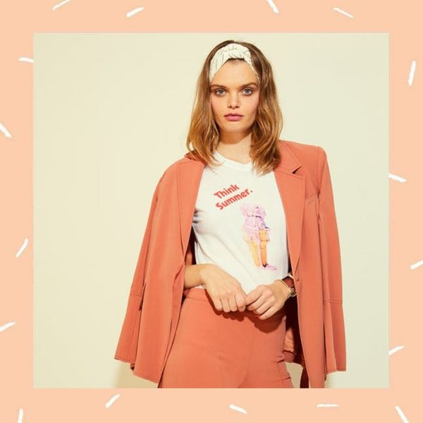 Madewell Partnered With This Cool-Girl Shirt Brand to Release the Chillest Collection