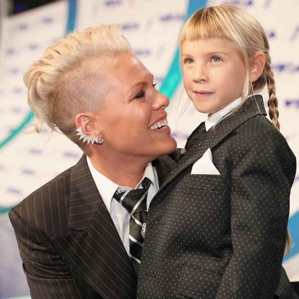 Pink Says She's Raising Her Kids in a Gender-Neutral Environment