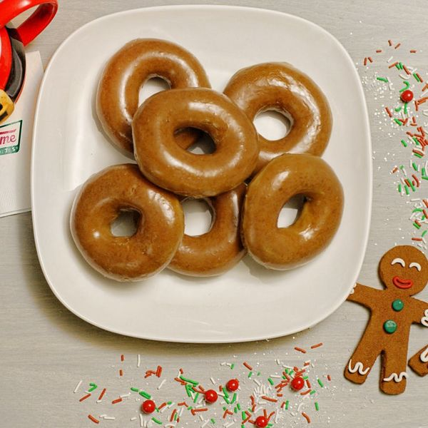 Krispy Kreme Just Introduced the Holiday Donut of Your Dreams… But There's a Catch