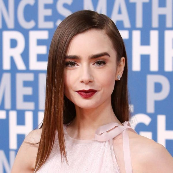 See the Major Tress Transformation Lily Collins Made Overnight