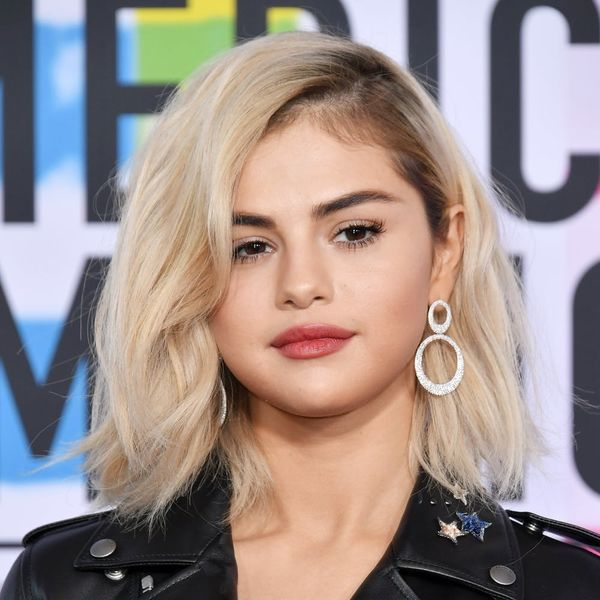 You Need to See Selena Gomez With Rainbow Bangs