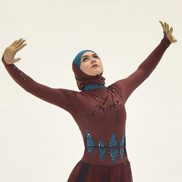 How Muslim Figure Skater Zahra Lari Is Changing History