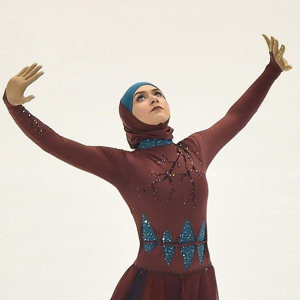 How Muslim Figure Skater Zahra Lari Is Changing History