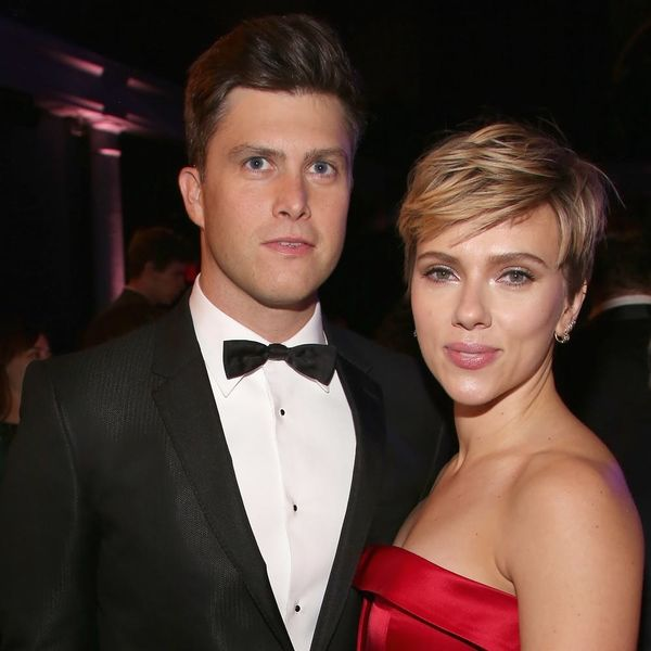 Scarlett Johansson and Colin Jost Make Their First Public Appearance as a Couple