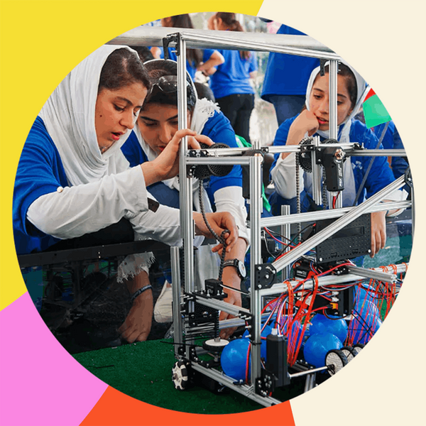 The Afghan Girls' Robotics Team Won Hearts — and Prizes — Against Incredible Odds