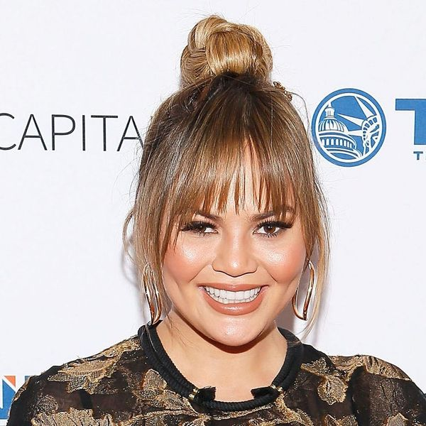 Chrissy Teigen Just Debuted Her Baby Bump and Looked Predictably Gorgeous