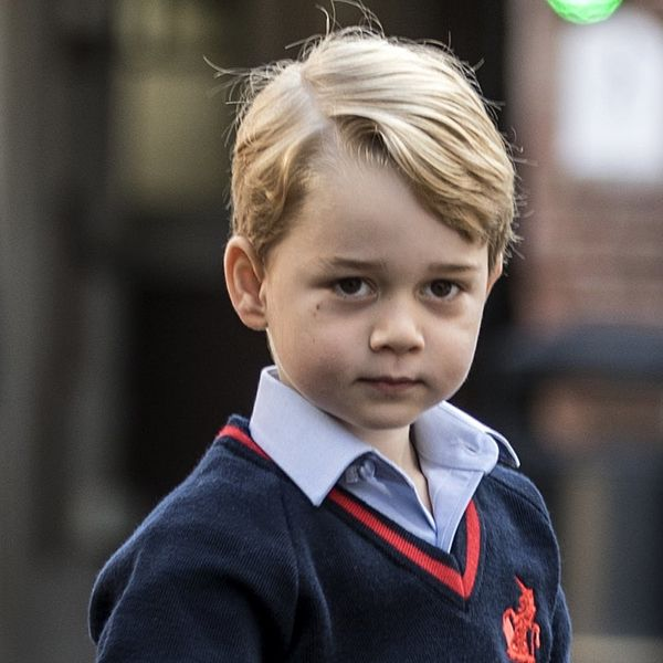 Prince George's Handwritten Letter to Santa Has Just One Gift Request