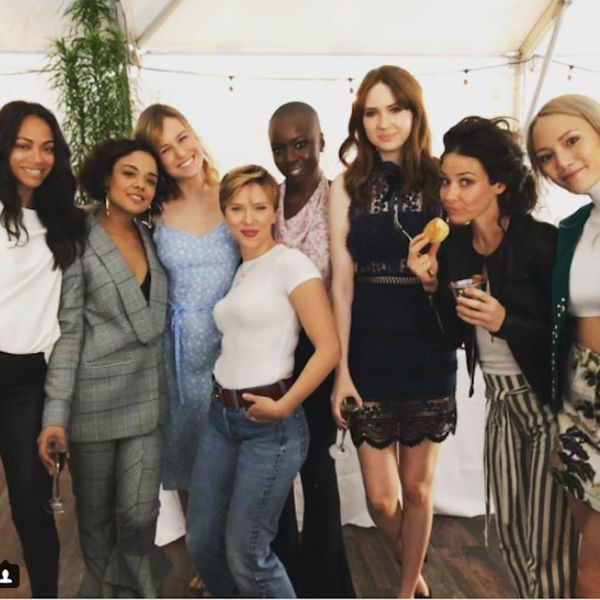 The Reason for This Viral 'Women of Marvel' Pic Will Melt Your Heart
