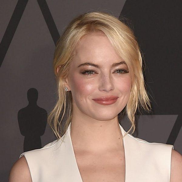 Emma Stone's Long Platinum Blonde Locks Could Rival Khaleesi (Or Legolas?)