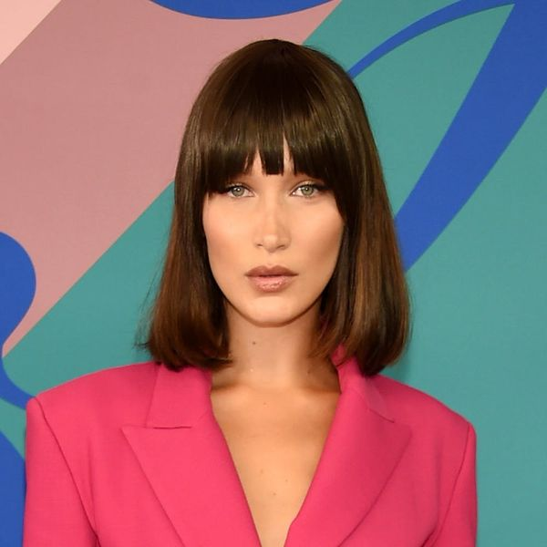 Bella Hadid's Teeny Crop Top Is So Cropped, It's Barely a Top