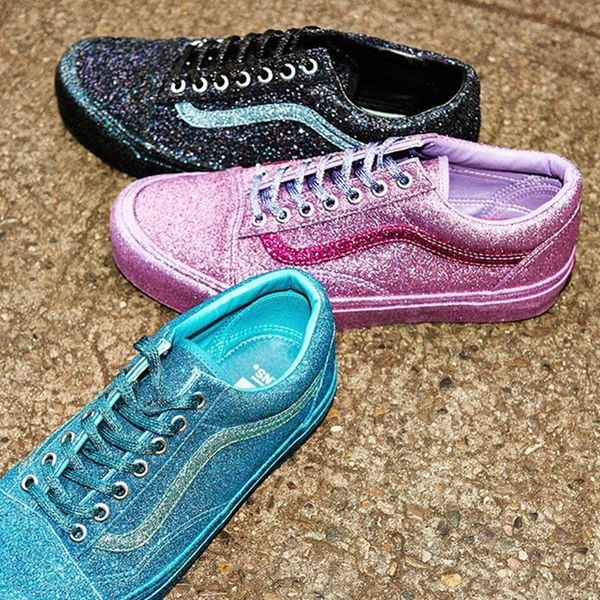 These Opening Ceremony x Vans Glitter Shoes Are Here Just in Time for the Holidays