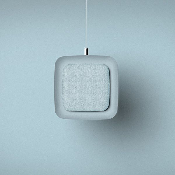 This Hanging Air Filter Is the Stylish Space Saver You Need