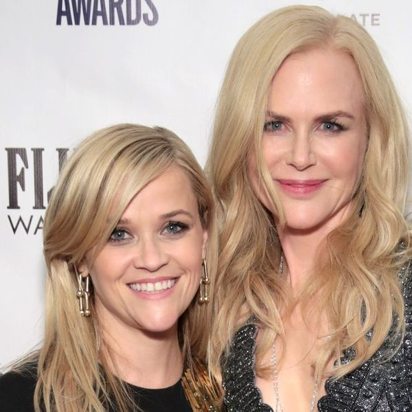 Reese Witherspoon and Nicole Kidman Reunite in Matching Shimmery Gowns