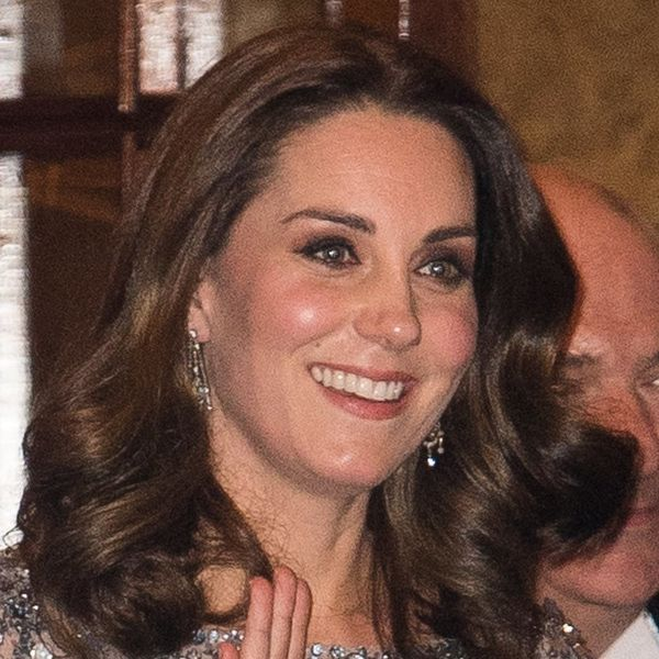 Kate Middleton Looked Just Like Disney's Queen Elsa in This Gorgeous Ice Blue Gown