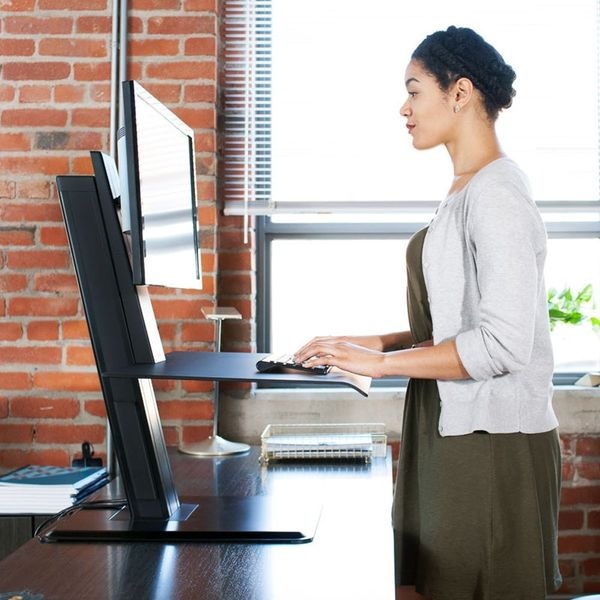 This Transformable Sit-to-Stand Desk Is Making It Easier to Work Healthy