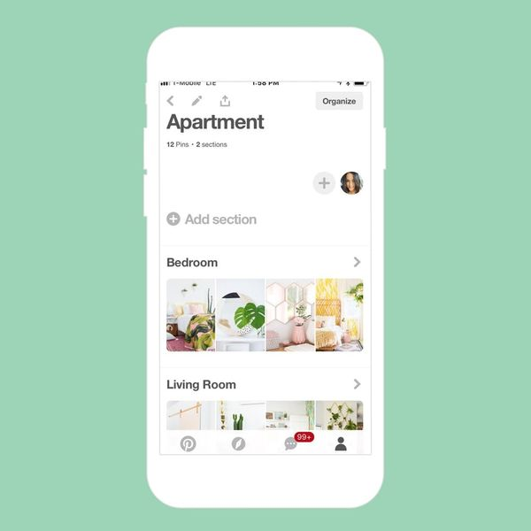 This New Pinterest Feature Is Making It Easier Than Ever to Plan Your Next Home Makeover