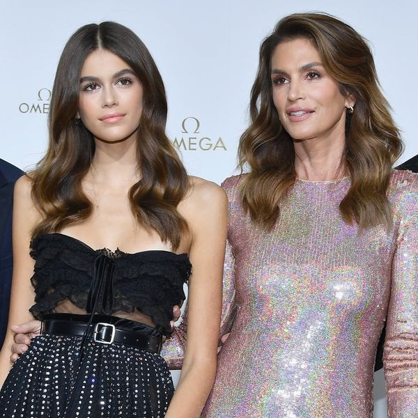 Kaia Gerber Looks Exactly Like Cindy Crawford in Their Yearbook Photos