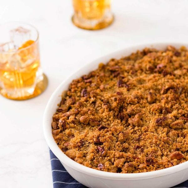 This Buttery Bourbon Sweet Potato Casserole Recipe Is the Missing Piece in Your Holiday Feast