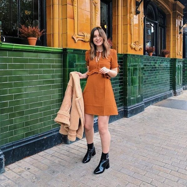 17 Street Style-Approved Looks to Copy for Thanksgiving Dinner With Your S.O.'s Fam