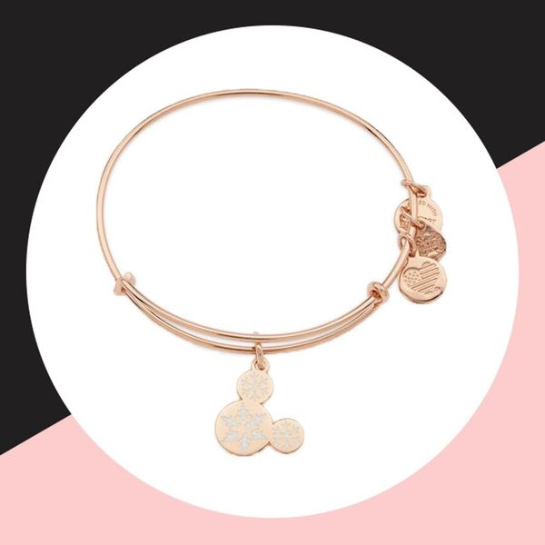 Alex and Ani's Rose Gold Disney Bracelet Is All We Want for Christmas