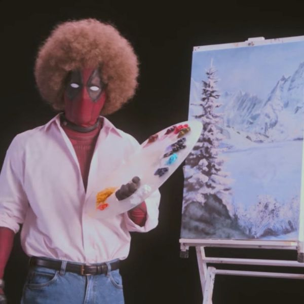 Deadpool 2's New Teaser Trailer Features Ryan Reynolds As Deadpool As Bob Ross