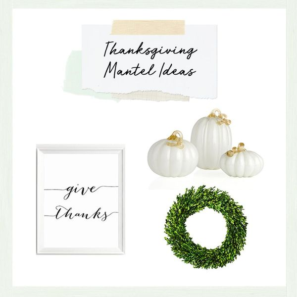 3 Ways to Decorate Your Mantel for Thanksgiving