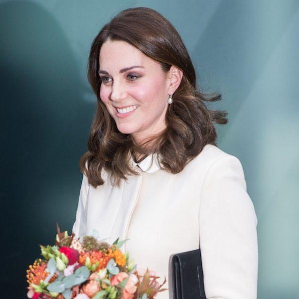 Well, Kate Middleton's White Winter Maternity Coat Certainly Looks Familiar