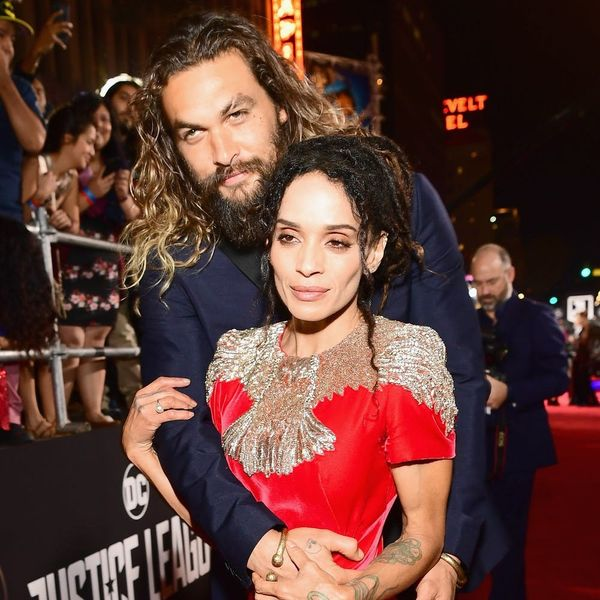 Jason Momoa and Lisa Bonet Show off Their Unconventional Wedding Bands on the Red Carpet