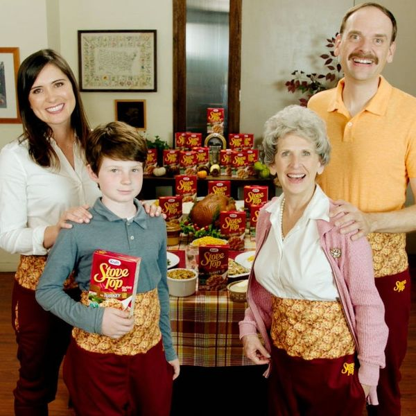 Stove Top's Thanksgiving Pants Mean You Can Gorge on All the Stuffing You Want