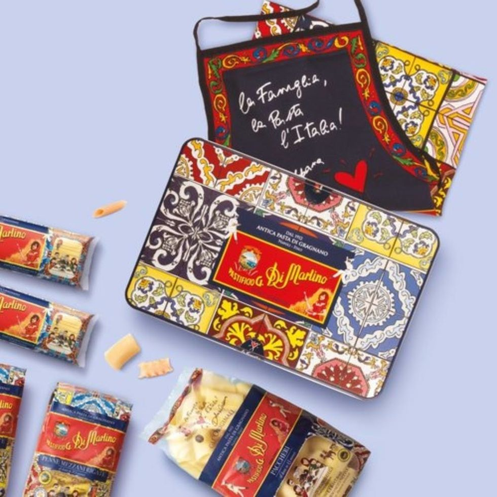 Would You Buy a Tin of Dolce & Gabbana Pasta for $110?
