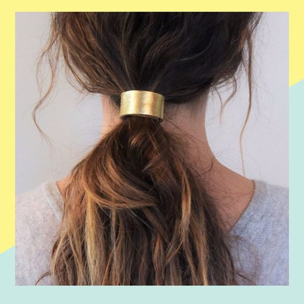 6 Ways to Rock Leather Hair Accessories This Fall