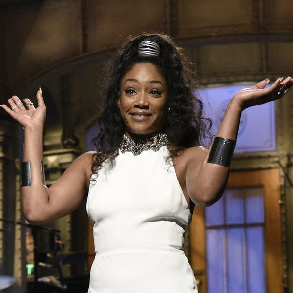 """Tiffany Haddish Just Made History As the First Female Comic of Color to Host """"SNL"""""""