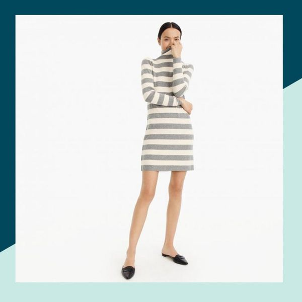 FYI, Sweater Dresses Are Still Very Much a Thing