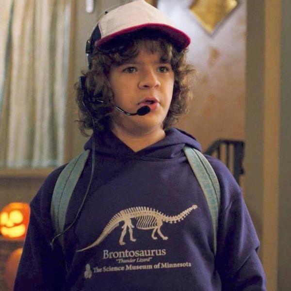 """Dustin's """"Stranger Things"""" Brontosaurus Hoodie Has Raked in $400,000"""