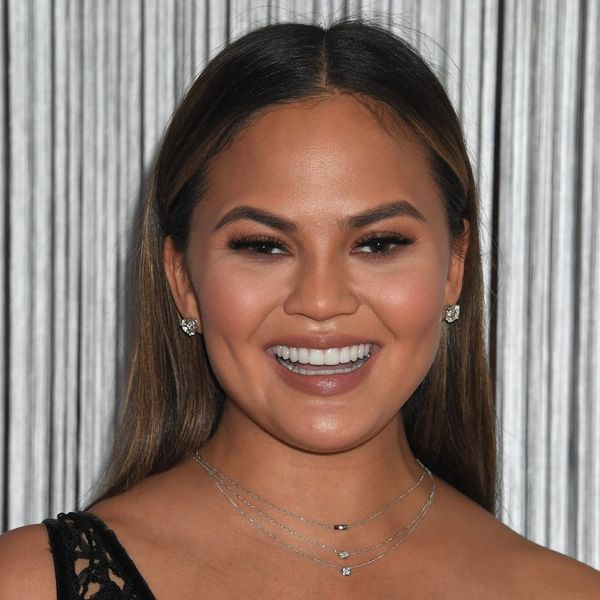 Chrissy Teigen Once Again Proves She's a Cool Mom by Letting Luna Get Her Ears Pierced… Whenever She Wants
