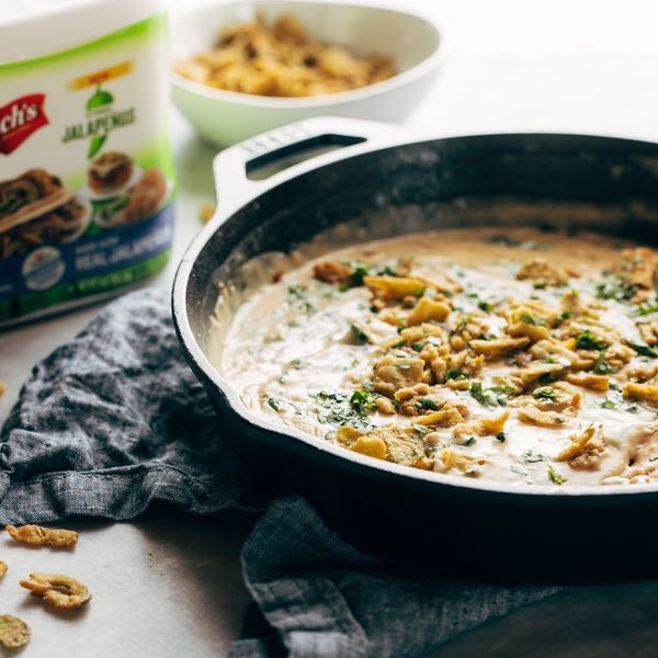 Satisfy Your Queso Craving With This Crispy Jalapeño Spinach Queso Recipe