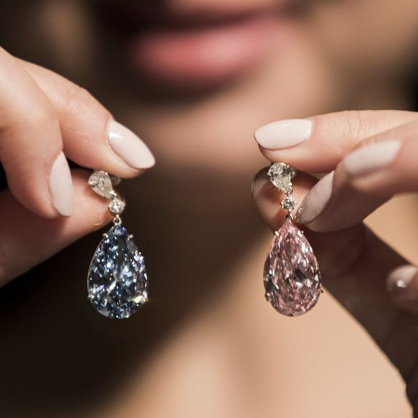 These Earrings Just Became the Most Expensive Ever Sold