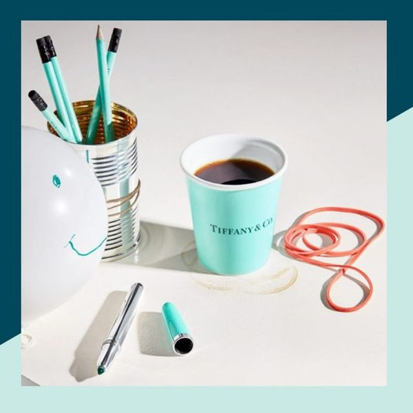Tiffany & Co.'s Everyday Objects Line Features a $250 Bendy Straw