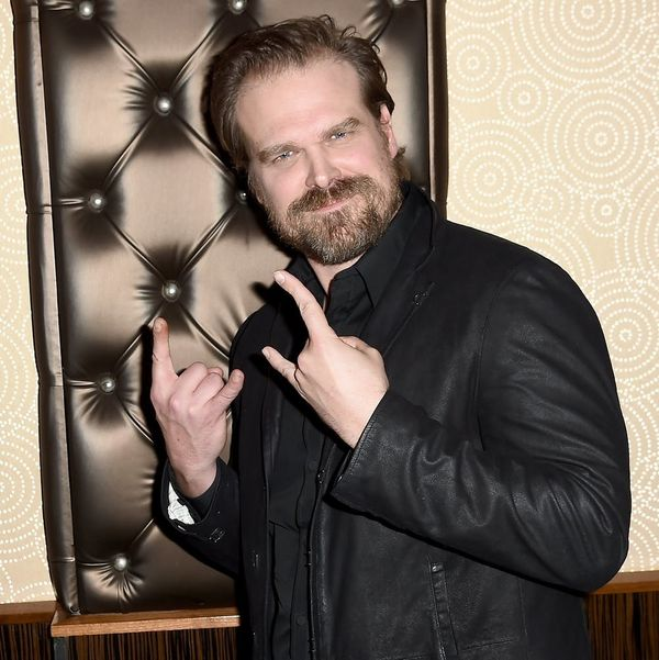 """""""Stranger Things"""" Star David Harbour Proves He Totally Twins With Other Cast Members"""