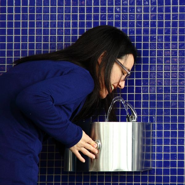 Sparkling Water Fountains Now Exist… But There's a Catch
