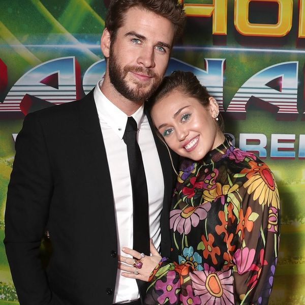 *This* Is Why Miley Cyrus and Liam Hemsworth Were Sporting Those Matching Rings