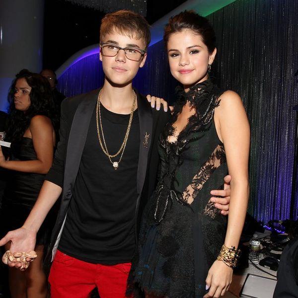 Selena Gomez Wears Justin Bieber's Hockey Jersey — Discuss