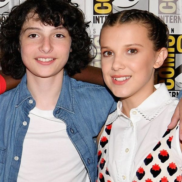 Millie Bobby Brown Reveals the Sweet Words Co-Star Finn Wolfhard Whispered to Her Before Their Second Season Kiss